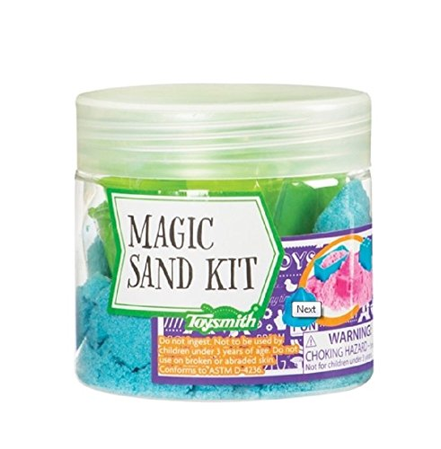 Magic Sand w/Molds-Assorted Colors (Pink or Blue)