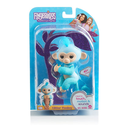 Fingerlings Glitter Monkey Amelia