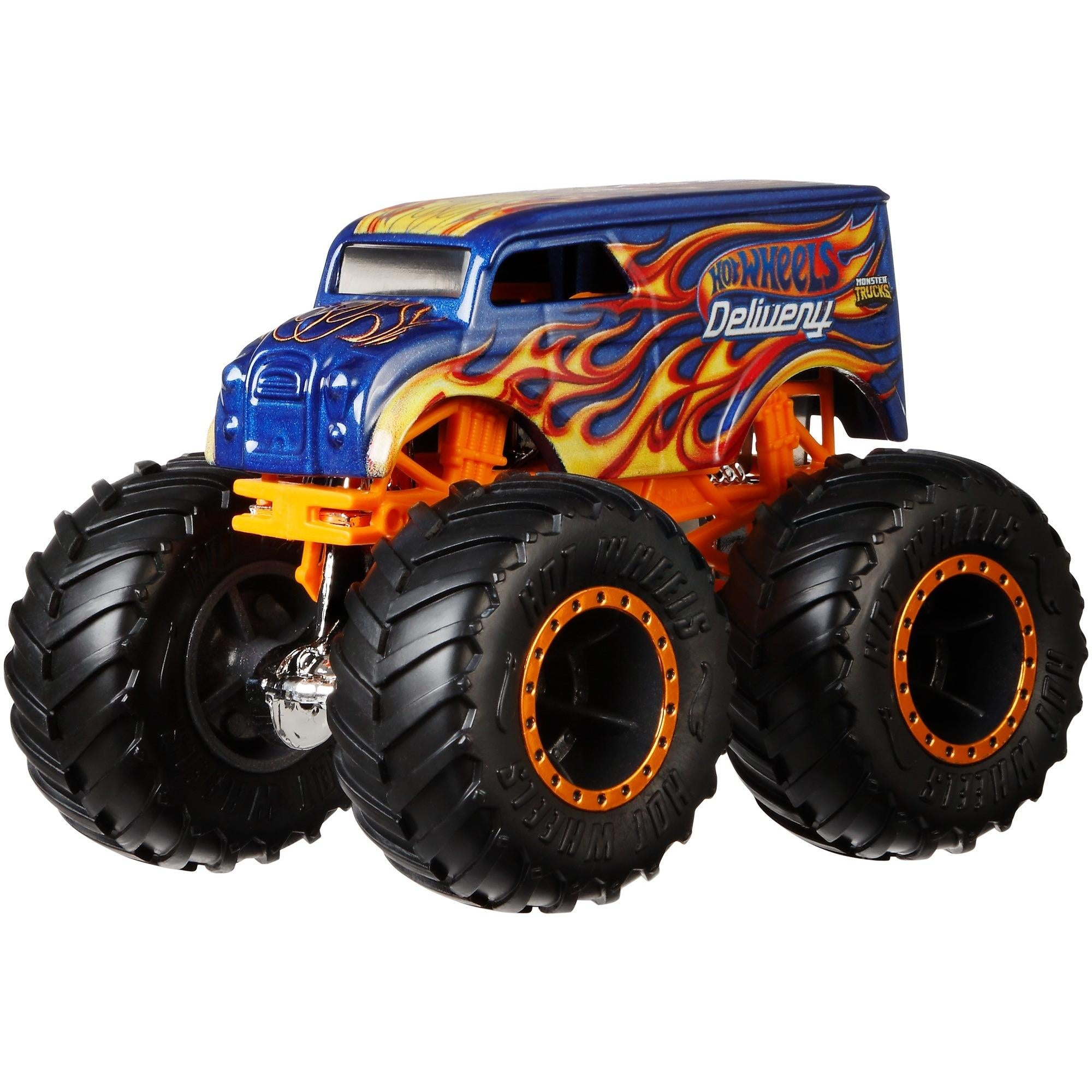 Hot Wheels Monster Trucks Die-Cast Vehicle (Styles May Vary)