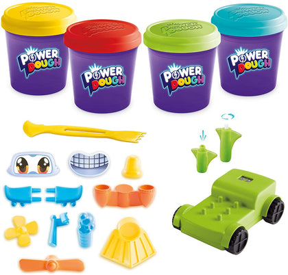 Power Dough Vehicles Large Box Interactive Dough (20 Piece)