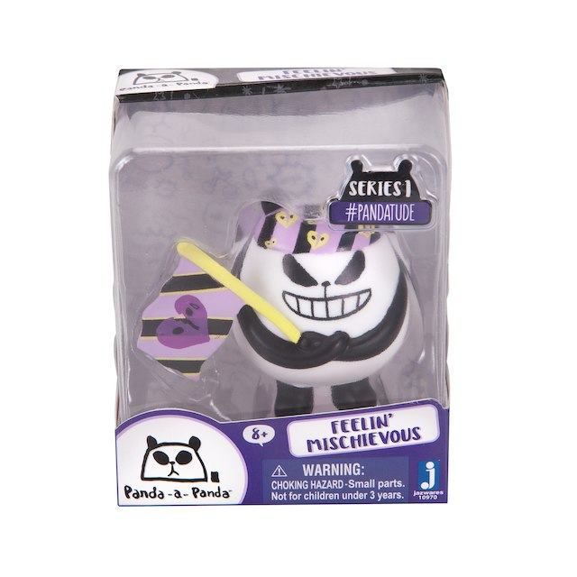 Panda-a-Panda Pandatude Series 1 Feelin' Mischievous Figure