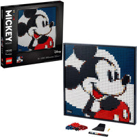 LEGO Art 31202 Disney's Mickey Mouse, New 2021 (2658 Pieces)