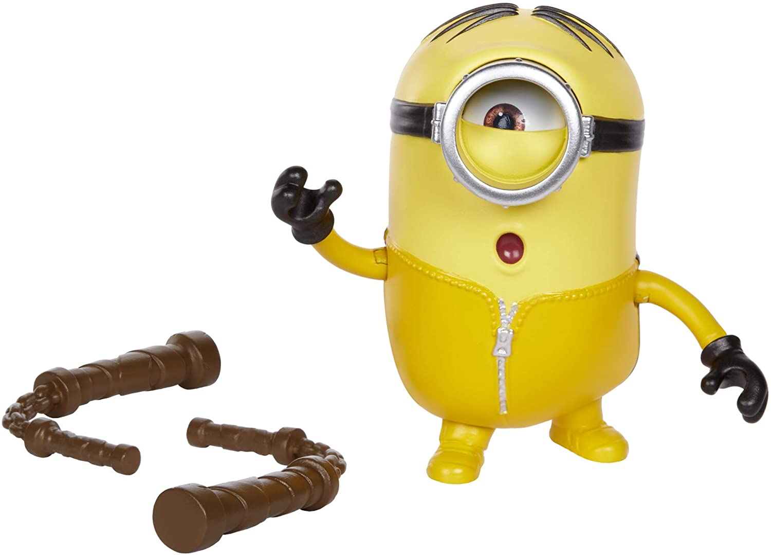 Minions: Rise of Gru Kung Fu Stuart Button with Nunchuks Accessory