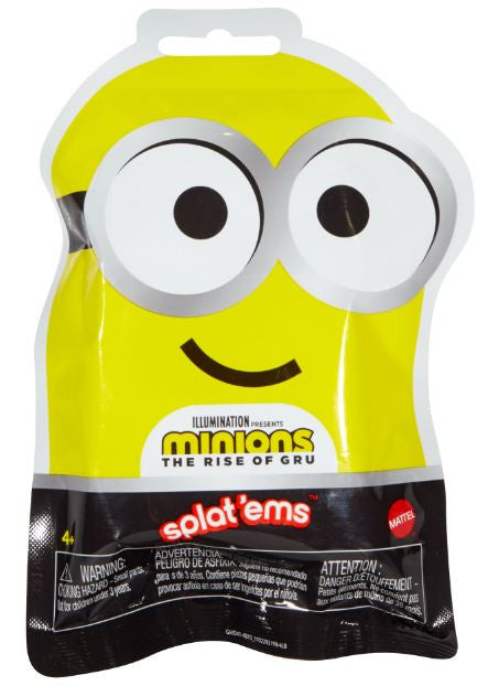 Minions The Rise of Gru Splat'Ems Mystery Pack 1