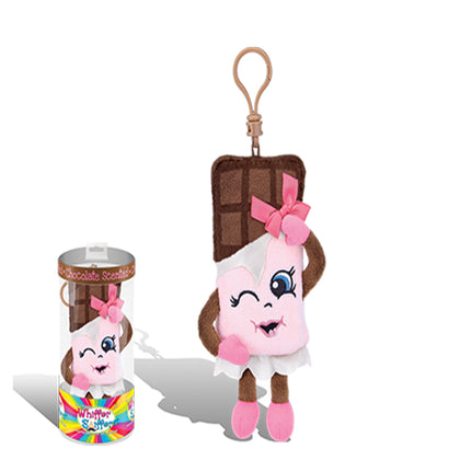 Whiffer Sniffers Candi Barr Scented Plush Backpack Clip, 5 in