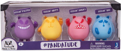 Panda-A-Panda Mood Figure 4 Pack