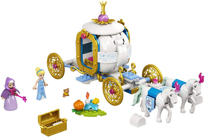 LEGO Disney 43192 Cinderella's Royal Carriage, New 2021 (237 Pieces)
