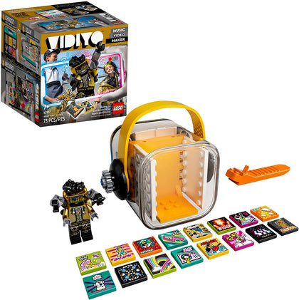LEGO VIDIYO Hiphop Robot Beatbox 43107 Building Kit with Minifigure, New 2021 (73 Pieces)