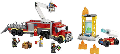 LEGO City 60282 Fire Command Unit, New 2021 (380 Pieces)