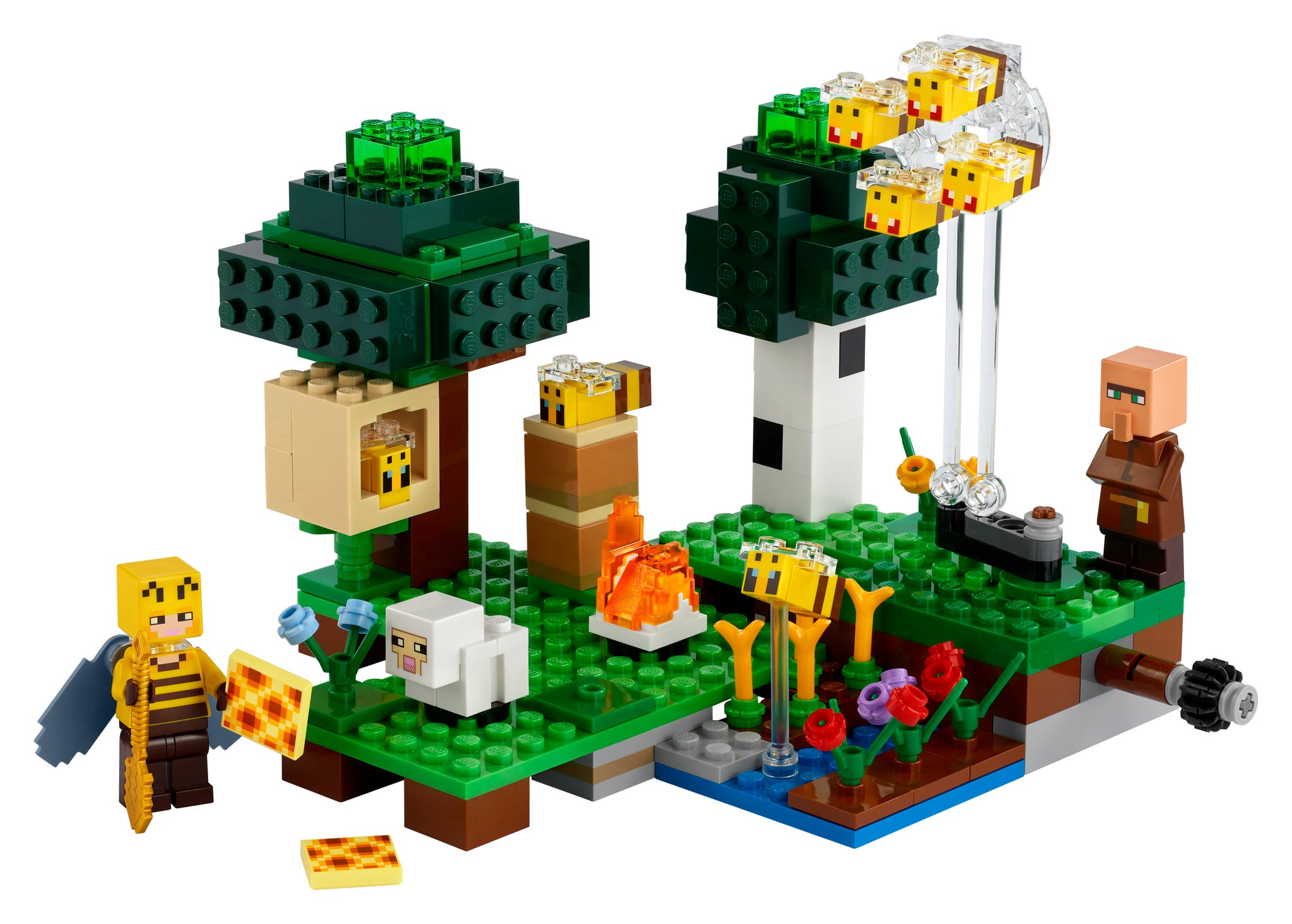 LEGO Minecraft 21165 The Bee Farm, New 2021 (238 Pieces)