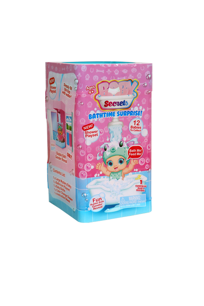 Baby Secrets Bathtime Surprise (Styles May Vary)