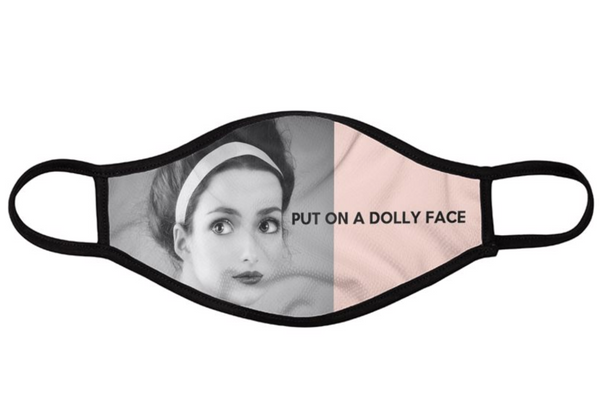 Dolly Fashion Face Masks Mouth Caps