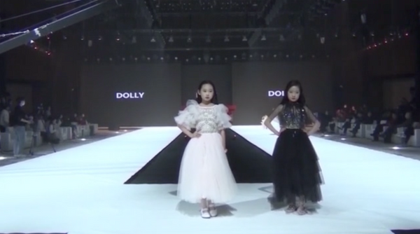 DOLLY collection at the famous  EXPO CHILDREN'S TALENT SHOW in Shanghai January 2021