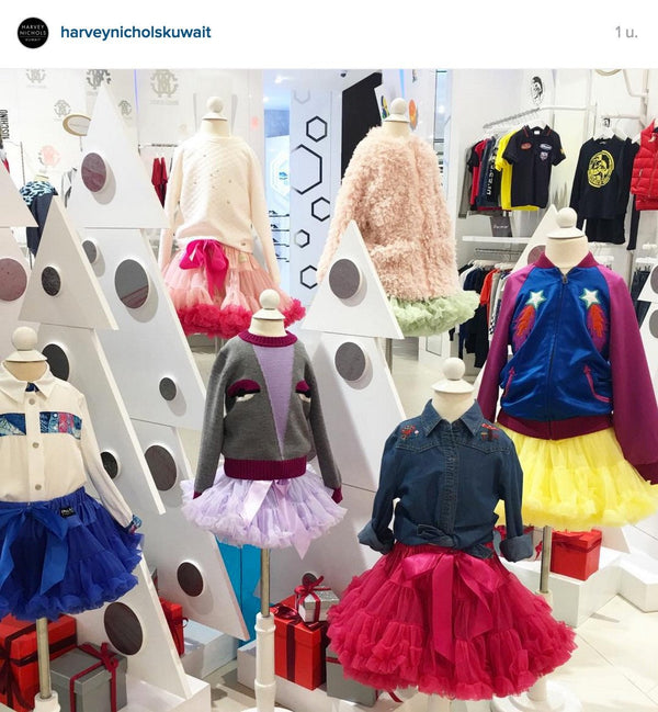 DOLLY skirts at Harvey Nichols Kuwait