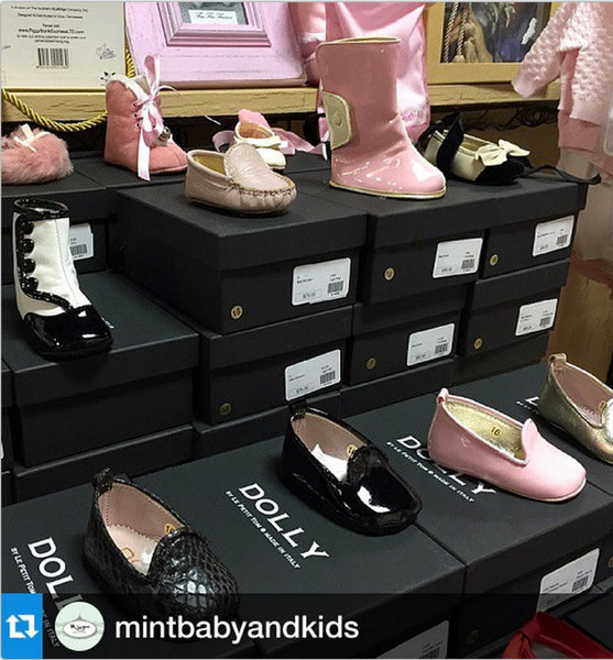 DOLLY Baby shoes at Mint Baby - USA