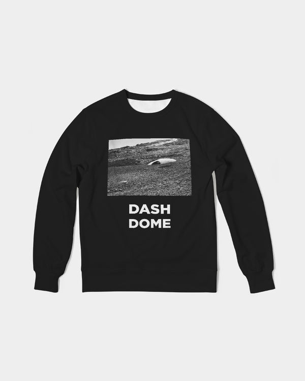 DASH DOME Men's Classic French Terry Crewneck Pullover