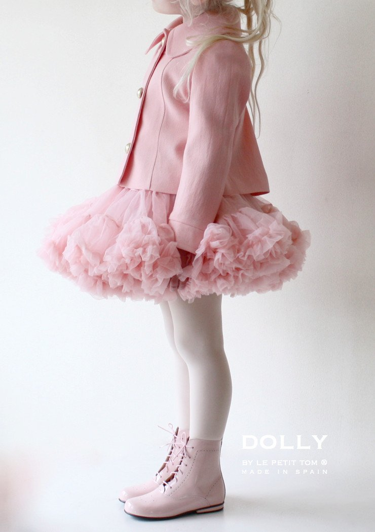 DOLLY by Le Petit Tom ® CLASSIC DOLL BOOT 1GBOOT LIGHT PINK Patent - DOLLY by Le Petit Tom ®