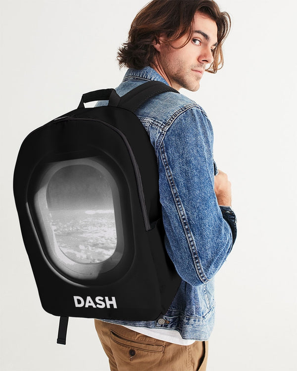 DASH AWAY PLANE WINDOW Large Backpack