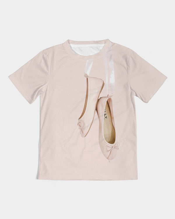 DOLLY BALLET PINK BALLERINAS Kids Tee