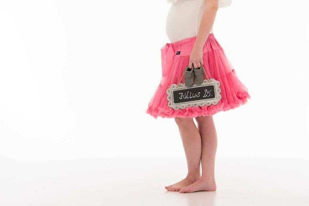 DOLLY by Le Petit Tom ® SLEEPING BEAUTY pettiskirt watermelon pink