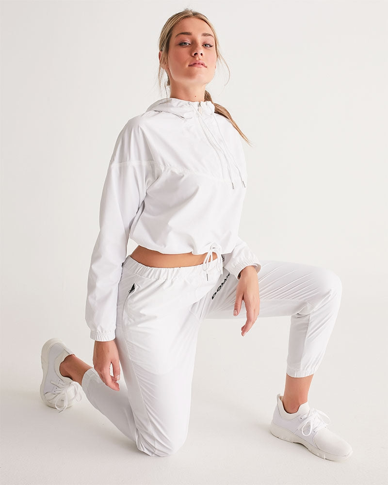 DOLLY SPORTS WHITE Women's Track Pants
