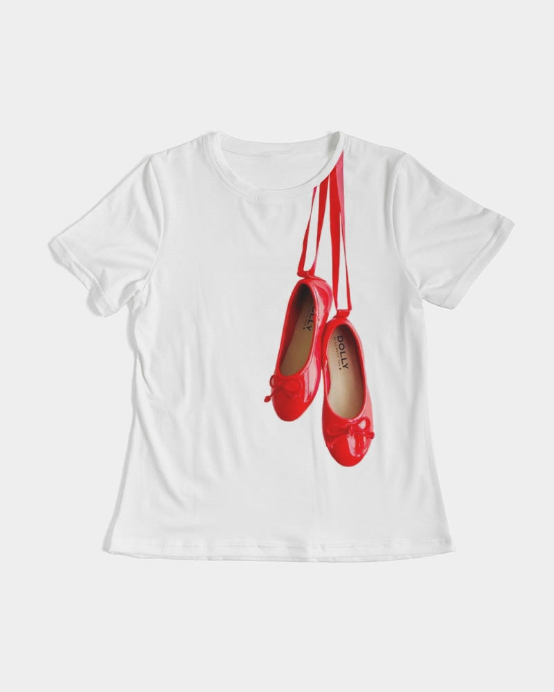 DOLLY RED BALLERINAS Women's Tee