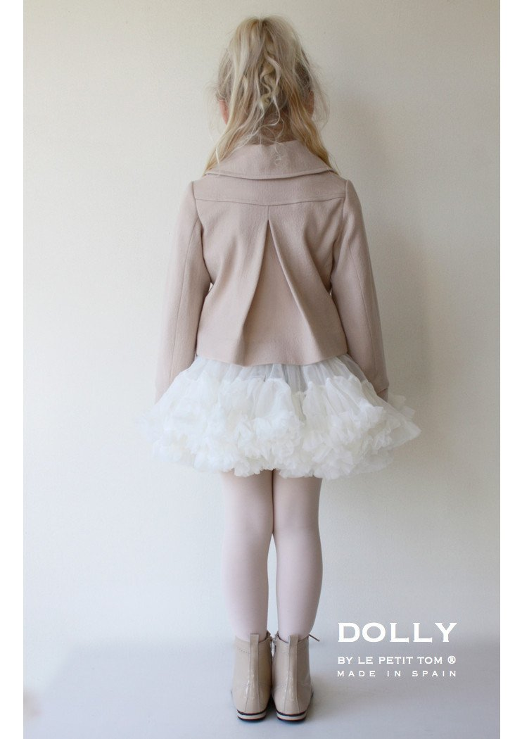 DOLLY by Le Petit Tom ® MARILYN MONROE pettiskirt off-white - DOLLY by Le Petit Tom ®