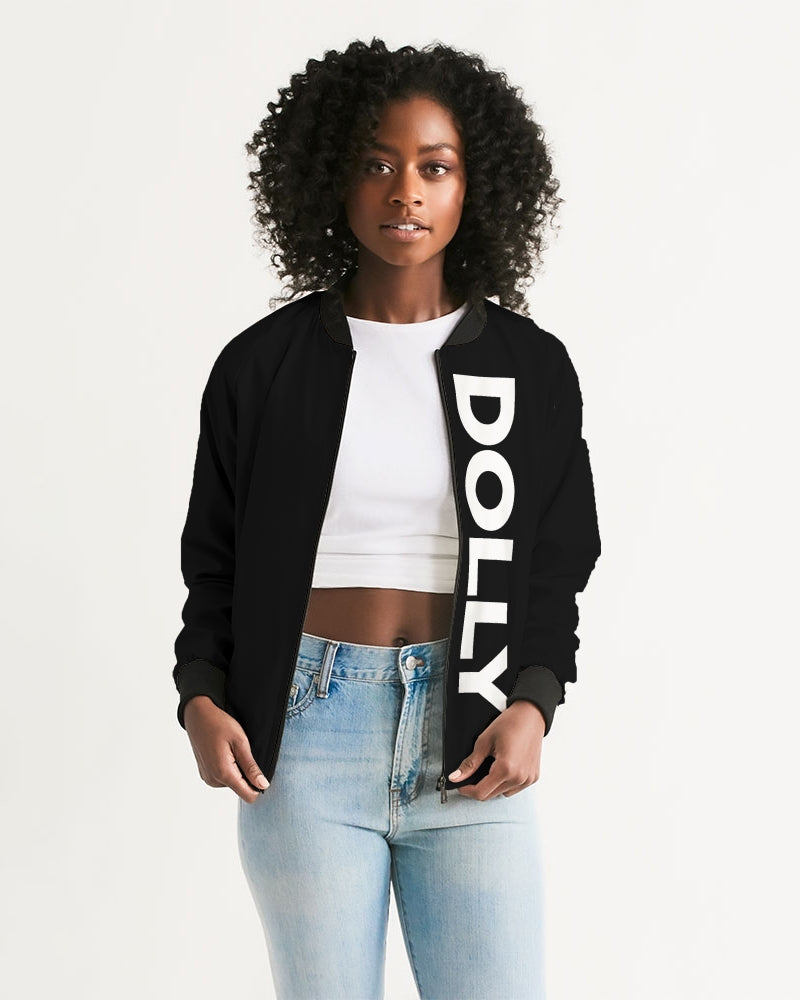 DOLLY LOGO BOLD Women's Bomber Jacket