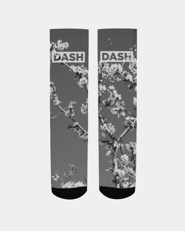 DASH GOGH REAL BLACK & WHITE Men's Socks
