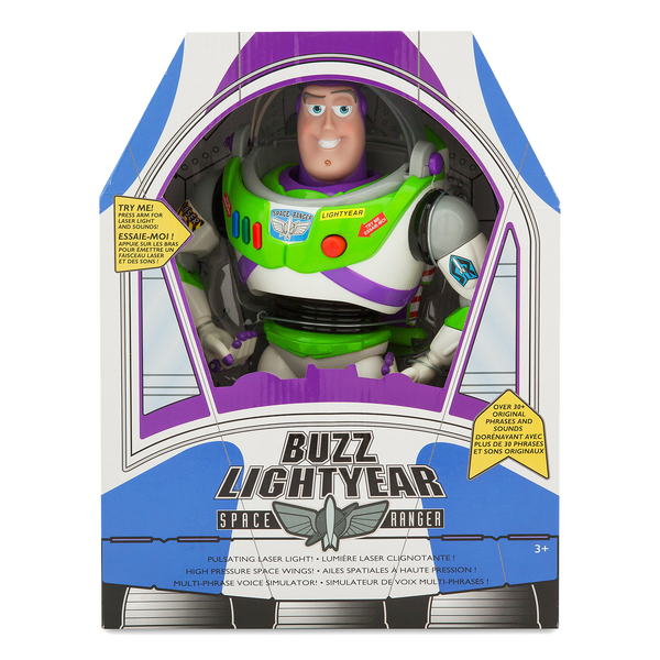 Toy Story Buzz Lightyear Original Talking Doll Buzz Lightyear pop - Interactive