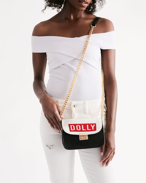 DOLLY RED 'LIFE' LOGO Small Shoulder Bag