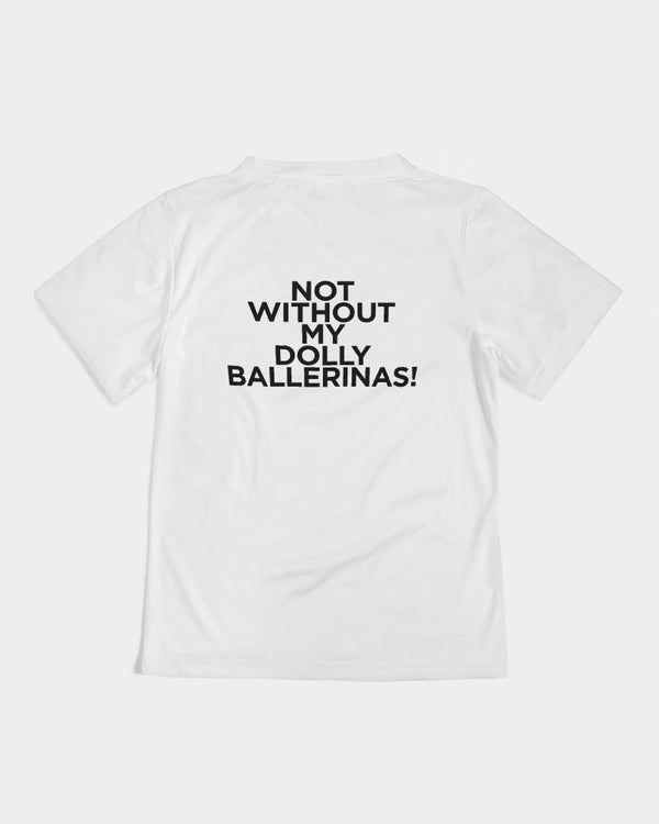 DOLLY RED BALLERINAS Kids Tee