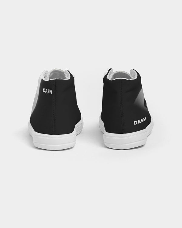 DASHECLIPSE Kids Hightop Canvas Shoe