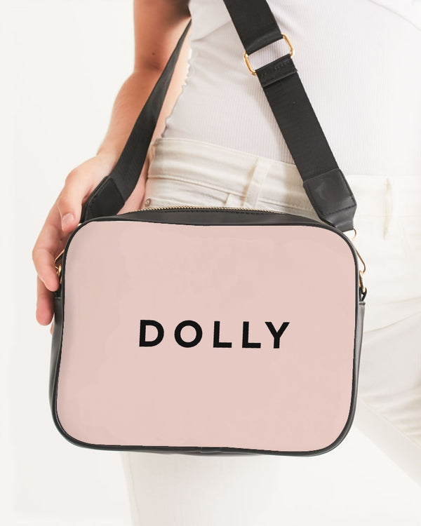 DOLLY LOGO BALLET BLUSH Crossbody Bag