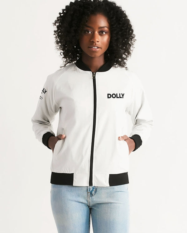 DOLLY LOGO WITH FRAME Women's Bomber Jacket