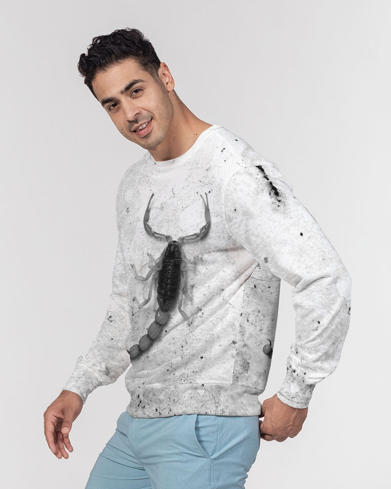 BADASH Men's Classic French Terry Crewneck Pullover