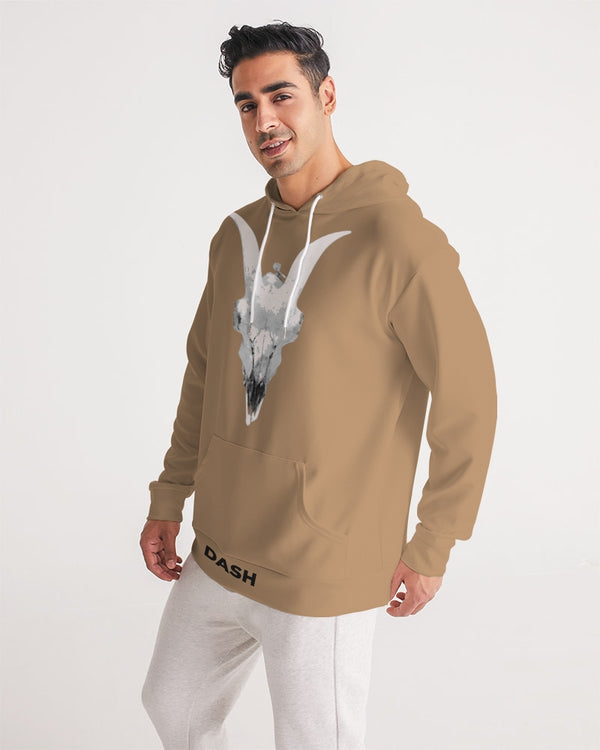DASH CAPRICORN SKULL BROWN Men's Hoodie