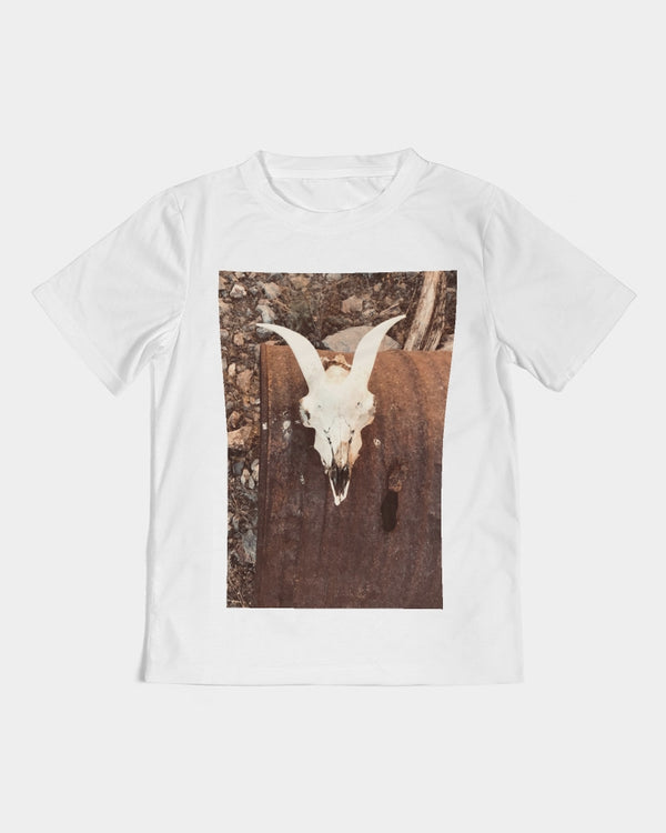 DASH CAPRICORN SKULL COLOR Kids Tee