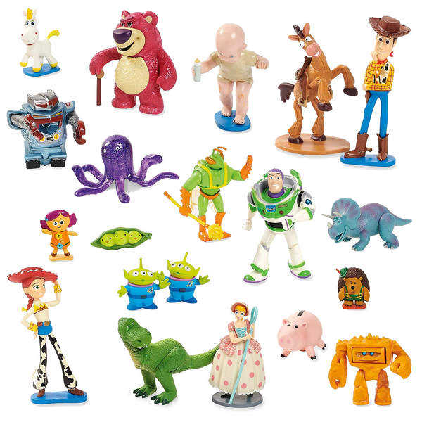 Toy Story Disney Toy Story Mega Figurine Playset with 20 figurines
