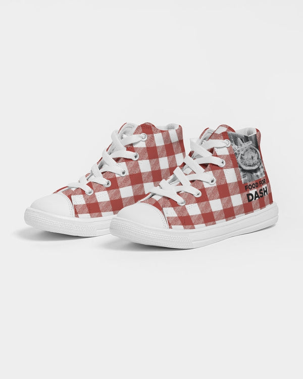FOOD FOR DASH Kids Hightop Canvas Shoe