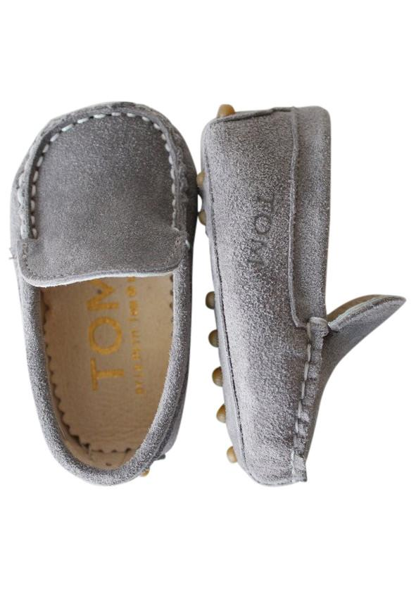 TOM by Le Petit Tom ® MOCCASIN  8tom grey - DOLLY by Le Petit Tom ®