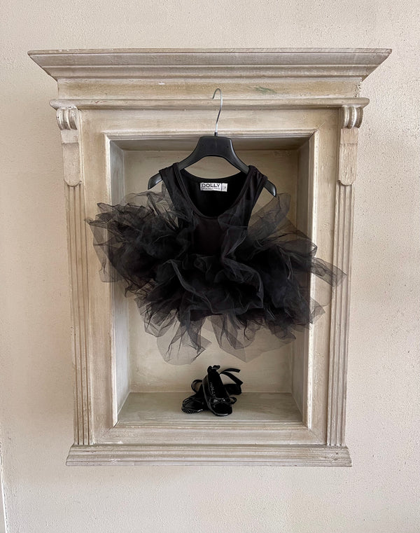 DOLLY by Le Petit Tom ® TIMELESS TUTU DRESS black