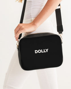 DOLLY LOGO Crossbody Bag black