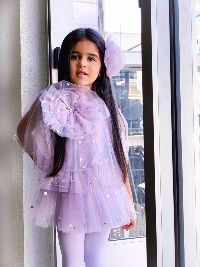 DOLLY by Le Petit Tom ® True Ballerina cape violet