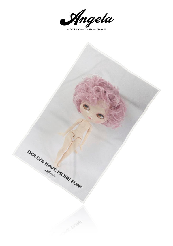 ANGELA DOLLY BEACH TOWEL pink