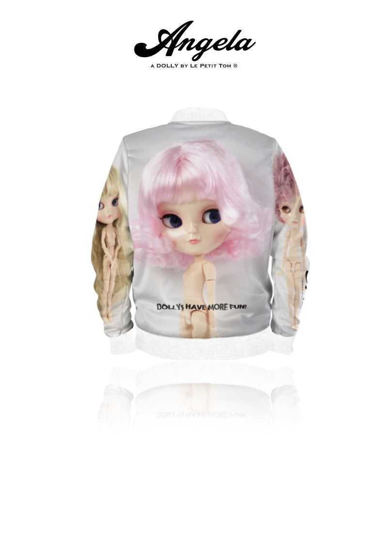 [OUTLET] ANGELA DOLLY BOMBER JACKET full color