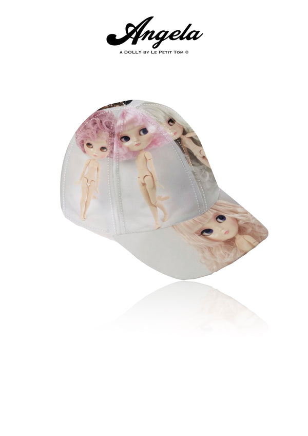 [OUTLET] ANGELA DOLLY DESIGNER BASEBALL CAP full color