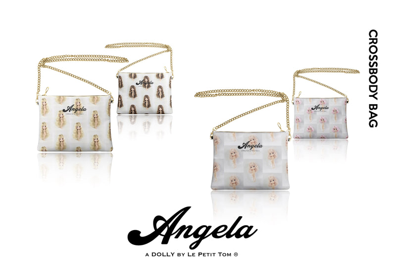 ANGELA DOLLY LEATHER CROSSBODY BAG pink
