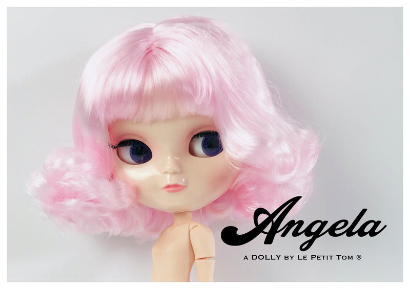 [OUTLET] ANGELA DOLLY HANDBAG ZIP TOP / BABY BAG pink