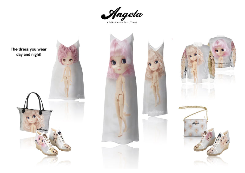 [OUTLET] ANGELA DOLLY LEATHER CROSSBODY BAG pink